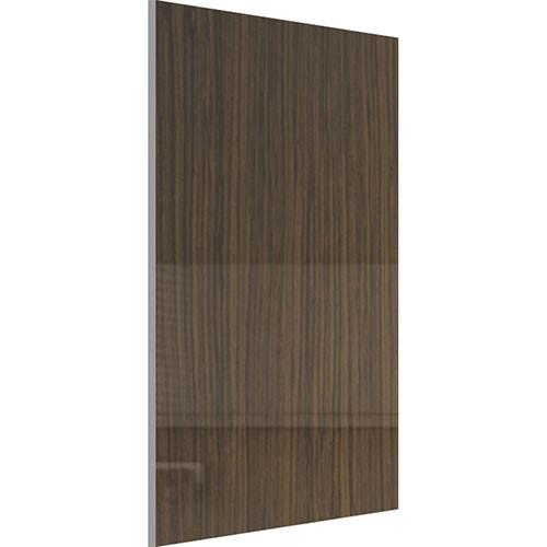 Акриловая панель Зебрано темное