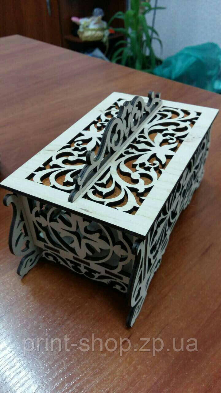 Свадебная шкатулка. Коробка для сбора денег. Свадебная казна