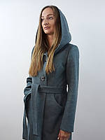 Женское пальто с капюшоном №55, фото 1