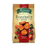 Гренки Bruschette Tomato,Olives & Oregano Maretti 70g