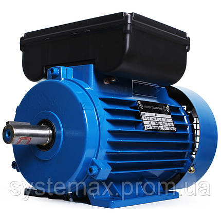 Электродвигатель однофазный АИРЕ100S4 (АИРЕ 100 S4) 2,2 кВт 1500 об/мин, фото 2