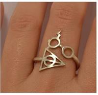 "Кольцо ""Очки и шрам Гарри"" и ""Дары Сметри"" Гарри Поттер Harry James Potter"