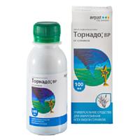 Гербицид Торнадо универсальное средство для борьбы со всеми видами сорняков, флакон 100 мл