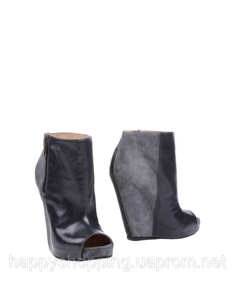 Серые ботинки 6 Taboo