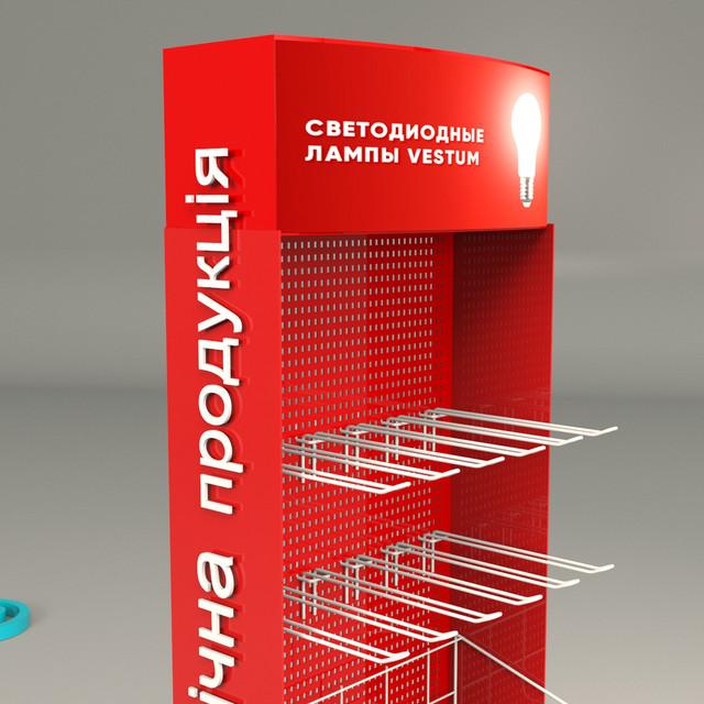 Изготовление торгового оборудования из металла Одесса