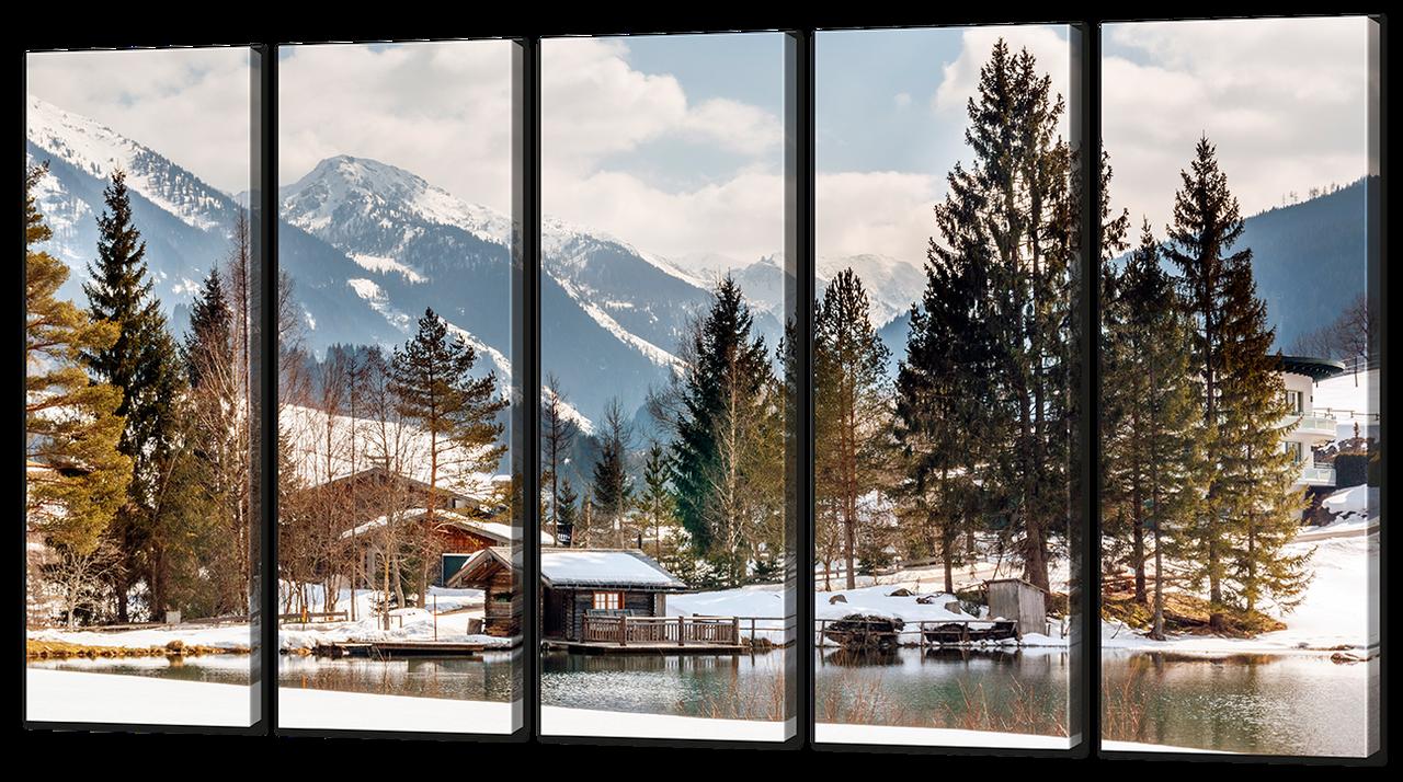 Модульная картина Виды зимы