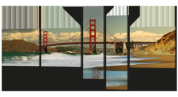 Модульная картина Пролив Золотые Ворота. США
