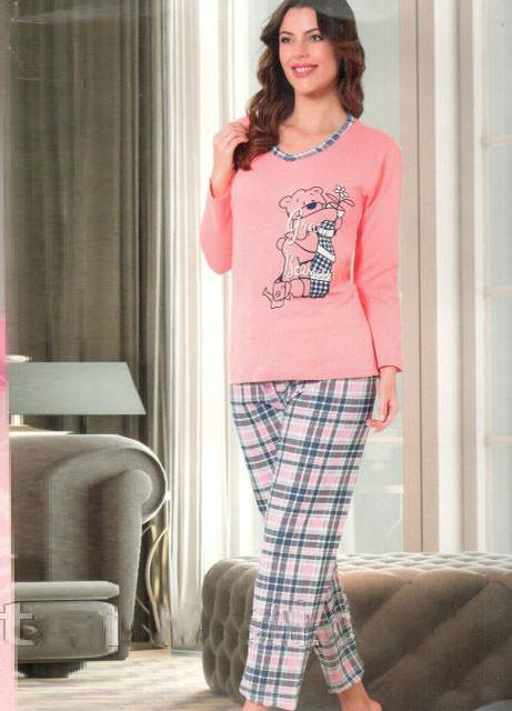 774df3e7f5c50 Другие модели теплых женских пижам от интернет-магазина женской одежды  4seasone.com.ua в разделе каталога теплые пижамы