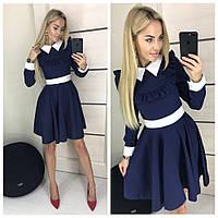 2f80762b195 Платье с белым воротником и манжетами в Украине. Сравнить цены ...