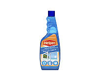 Helper средство для мытья стекол и зеркал запаска 500мл морская свежесть