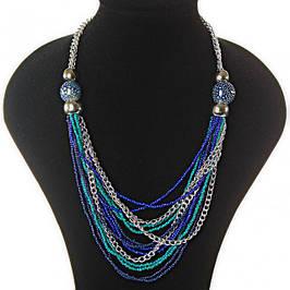 Колье и ожерелья в этно стиле