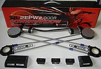 Стеклоподьемники универсальные электрические TIGER TR 2EPW тросовые с кнопками, фото 1