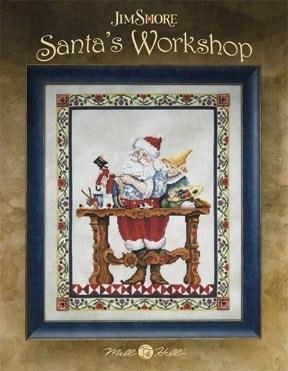 Схема Santa's Workshop by Jim Shore