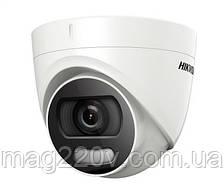Камера видеонаблюдения Hikvision DS-2CE72DFT-F Color VU ночь в цвете