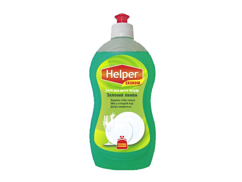 Helper Ек засіб д/пос 495мл зелен лимон