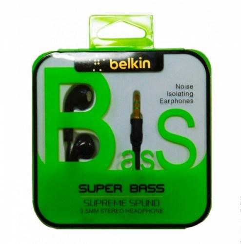 Наушники Belkin Earpods Design Black