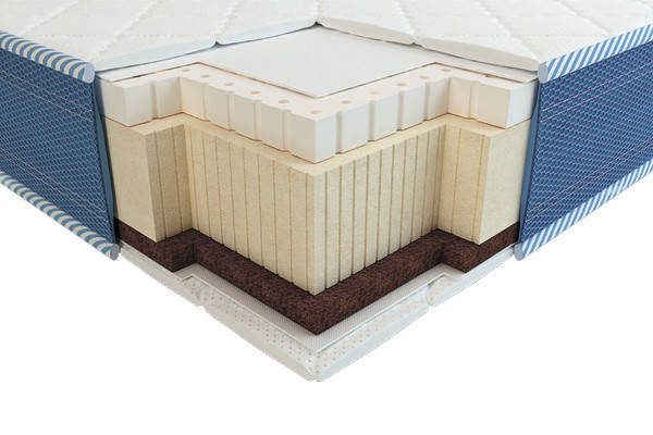 Матрас Вини 3D латекс кокос зима-лето 70х140, фото 2