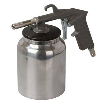 Пистолет пескоструйный пневматический Miol 81-546, фото 2