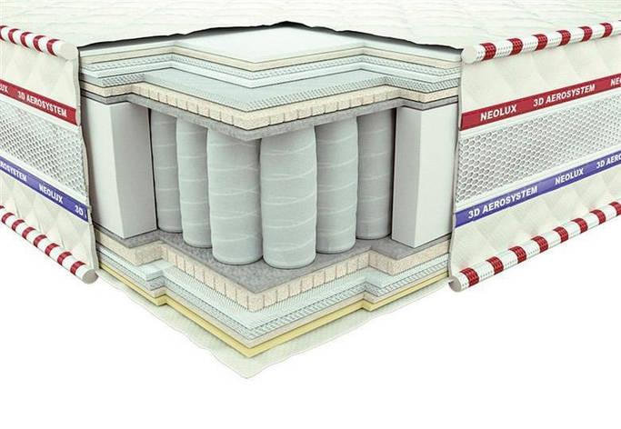 Ортопедический матрас 3D Магнат Зима-лето PS 140х190, фото 2