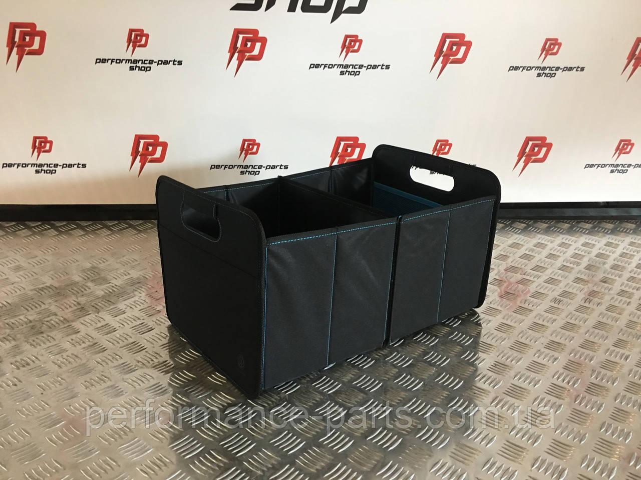 Органайзер багажника Volkswagen Faltbox, 33D061104, Оригинал. Черного цвета.
