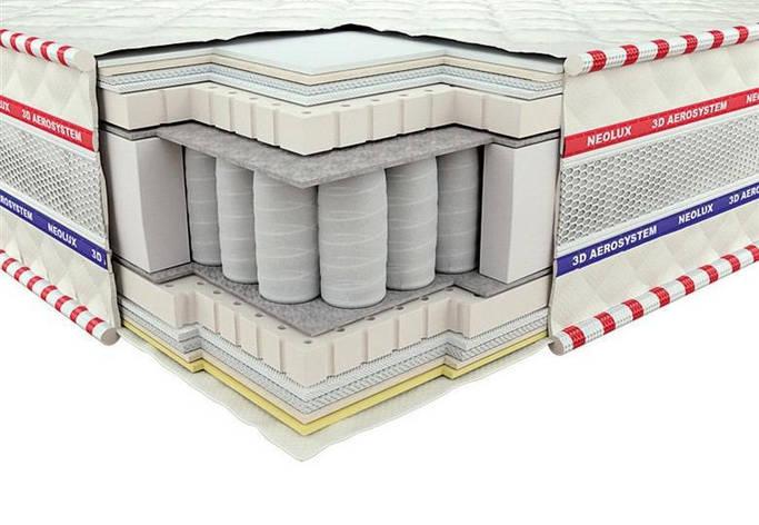 Ортопедический матрас 3D Империал Латекс Зима-лето PS 160х200, фото 2