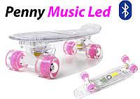 "Penny Board ""Light Music Led"" Гарантия качества Быстрая доставка"