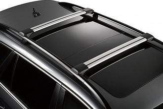 Универсальные багажники для авто с рейлингами