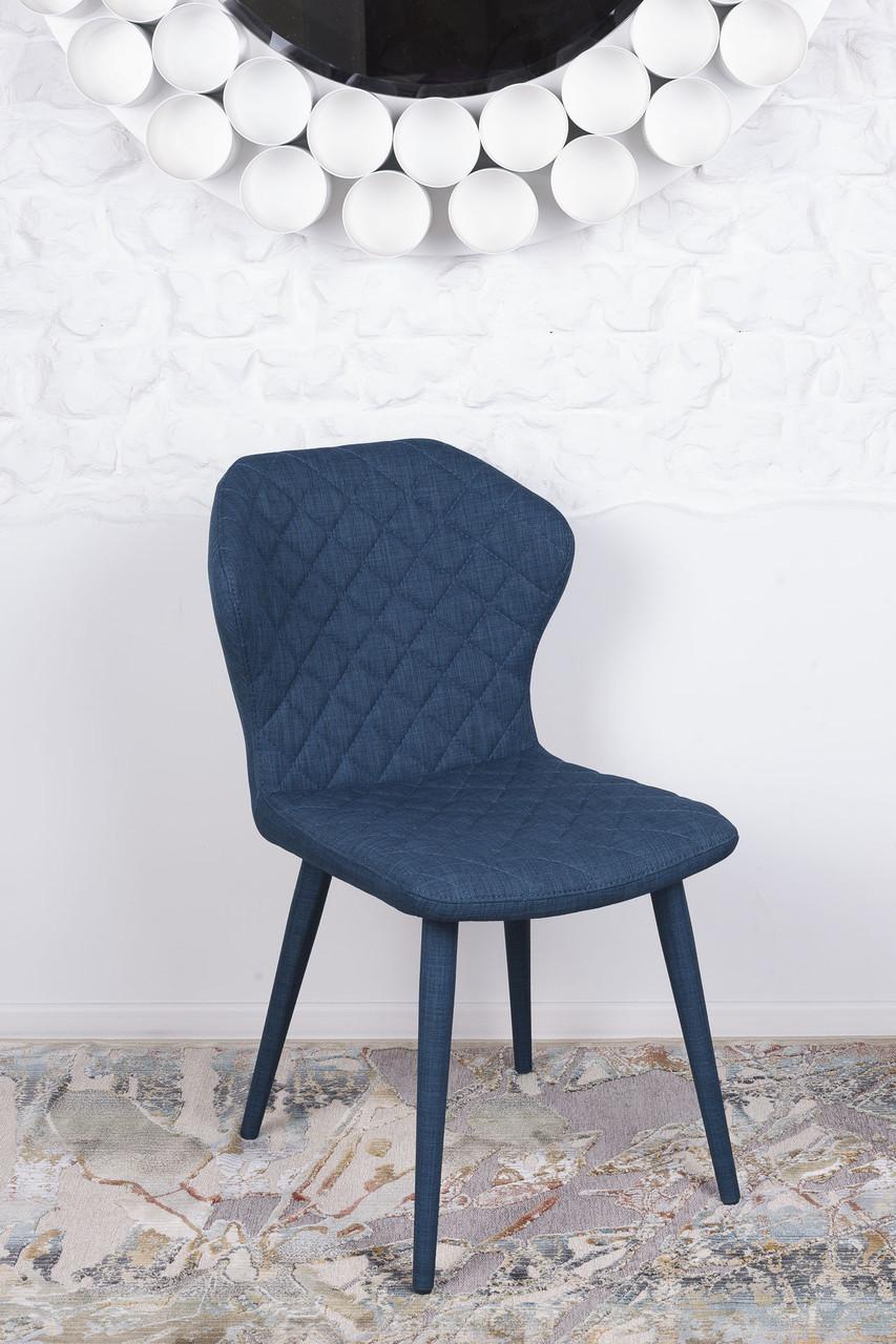 Стул VALENCIA (Валенсия) синий от Niсolas, ткань