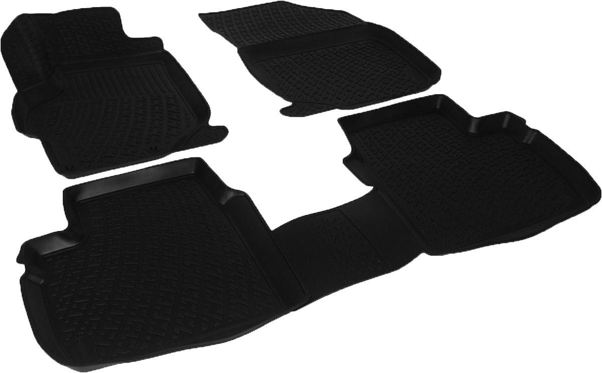 Коврики в салон для Peugeot 301 SD (12-) полиуретановые 220140101