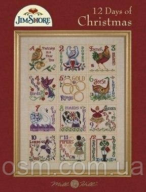 Схема 12 Days Of Christmas by Jim Shore