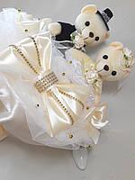 Букет из игрушек Свадебный зефир