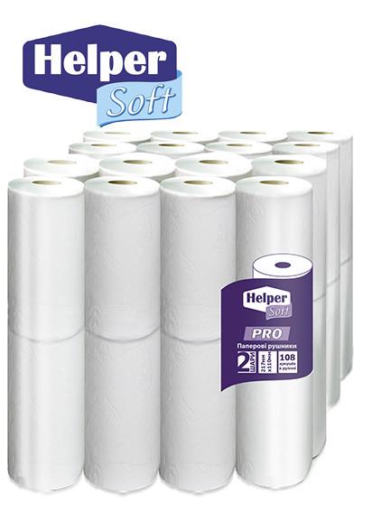 Helper Soft Pro рушникі паперові (2*16) 32 шт