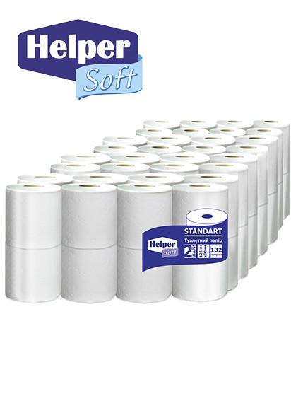 Helper Soft Standart   туалетная бумага  2  шара  (4*16)  64шт