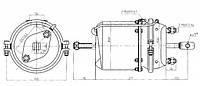 Энергоаккумулятор 27/30 RVI AE/Pre/Kerax -06 9254290017 Польша