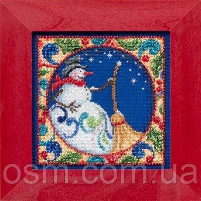 Набор для вышивки Snowman by Jim Shore (2014)