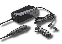 Блок живлення ноутбучнийCigarSocket-Jack Kit Goobay 15-24V 6000mA 6-адаптерів +USB Черный(75.05.4801)
