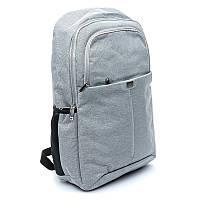 Рюкзак городской женский BST 430025 30х14х40 см. светло-серый