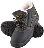 Зимние рабочие ботинки со стальным подноском BRYES-TO-SB