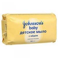 """Детское мыло """"Johnson's Baby"""" медовое 100 г"""