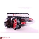 EH-AHT-1820 Черная изолента 21м. 0,15мм х 18мм, фото 4