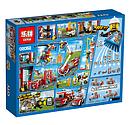 """Конструктор Lepin 02052 (Lego City 60110) """"Пожарная часть"""", 1029 дет, фото 3"""