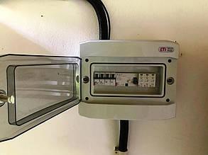 Шкаф защиты для солнечной электростанции.