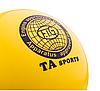 Мяч для художественной гимнастики, д-19см. Цвет желтый, матовый.TA Sport., фото 3