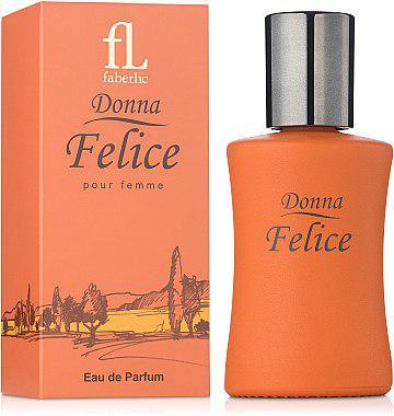 Парфюмированная вода Donna Felice от Faberlic