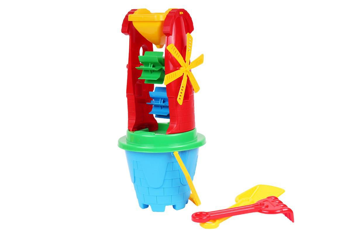 """Іграшка """"Млинок 2 ТехноК"""" для гри з піском та водою"""