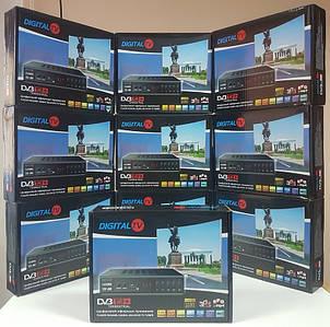 Цифровой эфирный DVB-T2 тюнер ресивер приставка Т2 декодер TopSat 717