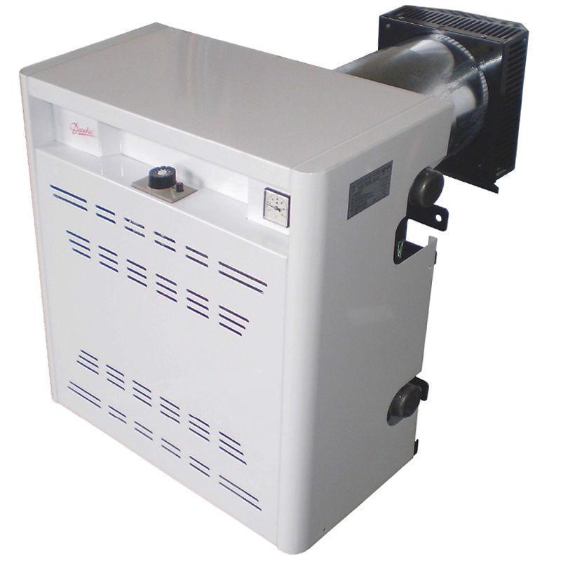 Двоконтурний газовий котел Данко-7УВС. Бездимохідний (парапетний) 7 кВт