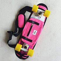 "Zippy Bag 22"" Pink- Розовая Сумка чехол для пенни борда, фото 2"