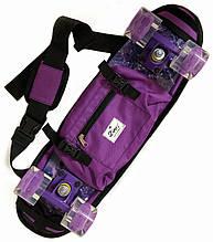 """Сумка чехол для пенни борда Zippy Bag 22"""" Purple - Фиолетовая"""