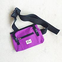 """Сумка чехол для пенни борда Zippy Bag 22"""" Purple - Фиолетовая, фото 3"""